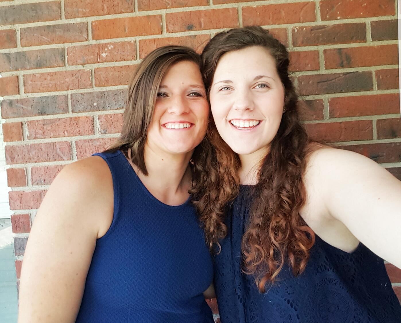 Meghan and Melanie